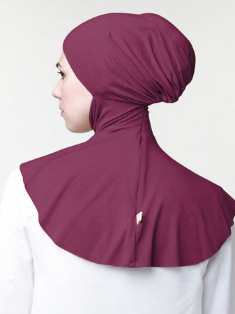 INNER BUN FAUX REGULAR MAROON