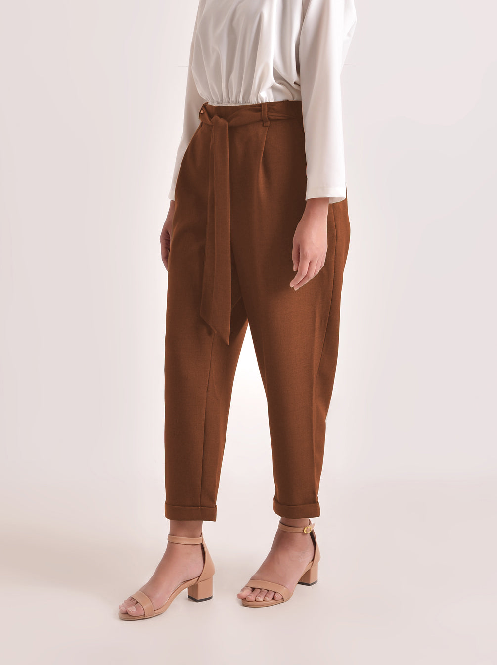 NEW SOJA PANTS TERRACOTA