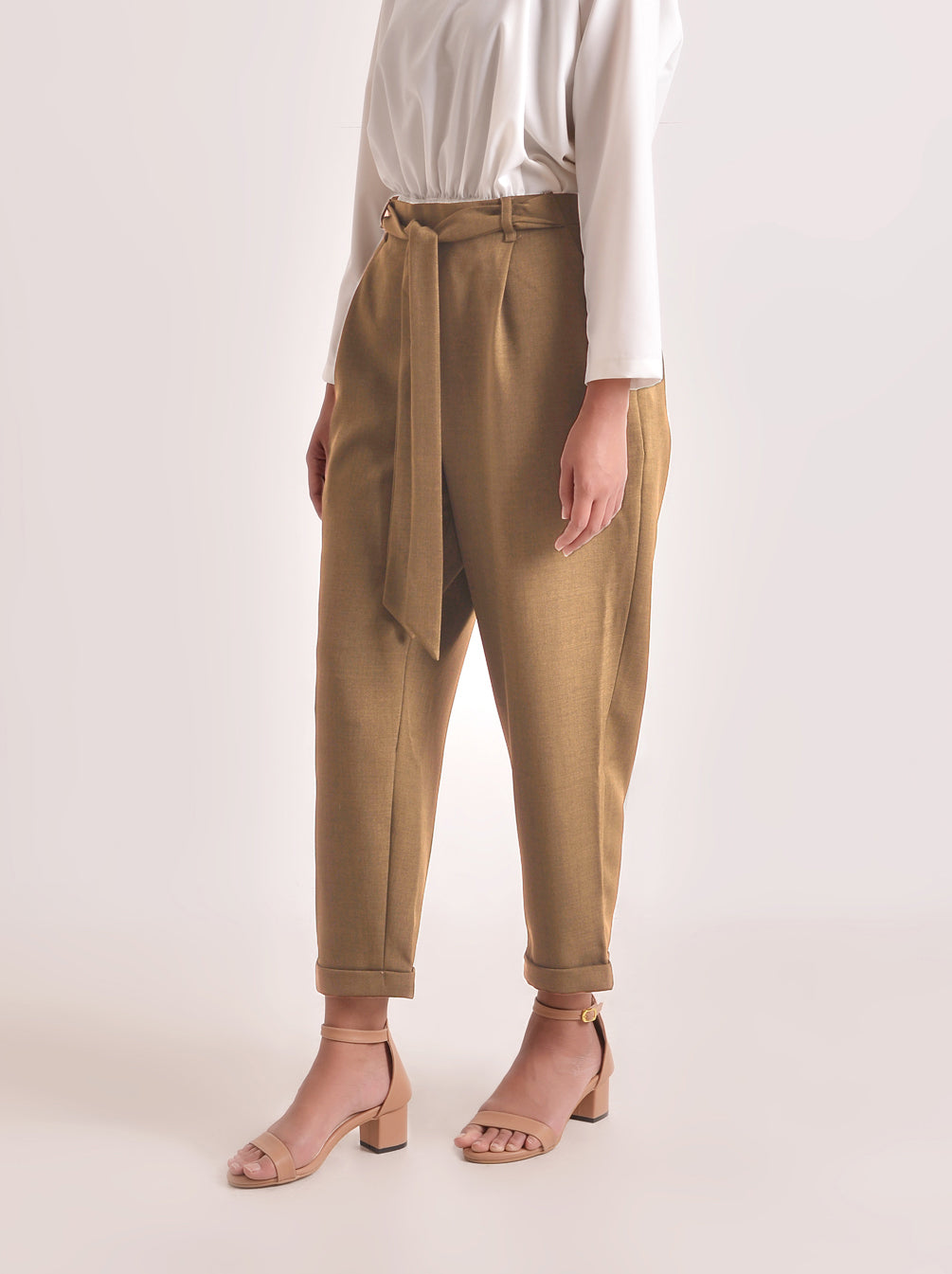 NEW SOJA PANTS SUN VANILLA