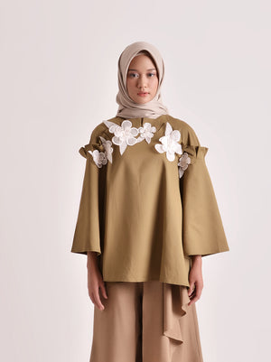 NORIN OUTER EMB OLIVE