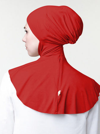 INNER BUN FAUX REGULAR RED