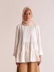 SHALA TOP PLAIN OFF WHITE