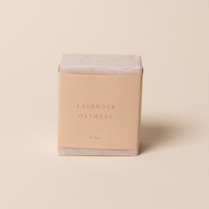 Lavender Oatmeal Bar Soap