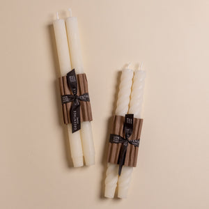 Rope Taper Candle Pair