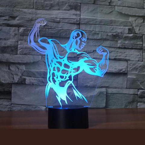 Premium 3D Hologram Fitness Lamp