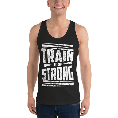 Premium Train To Be Strong Tank Top