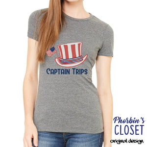 Captain Trips Womens T-shirt
