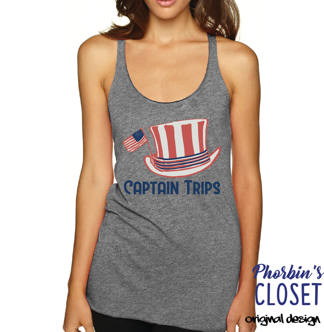 Captain Trips Tank Top