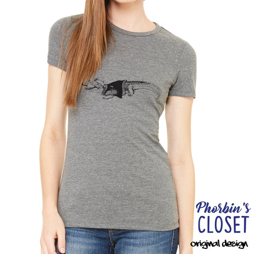 Pig Pen Gator Womens T-shirt