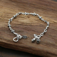 Sterling Silver Crown Anchor Skull Clover Charms