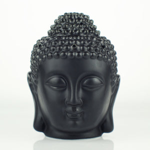 Ceramic Aromatherapy Oil Burner Buddha Head