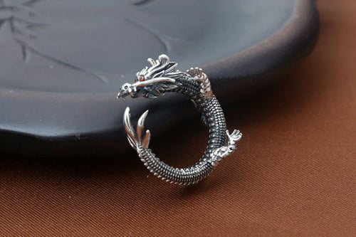 Dragon Ring 925 Sterling Silver