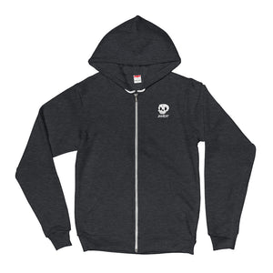 Drippy logo Zip Up Hoodie
