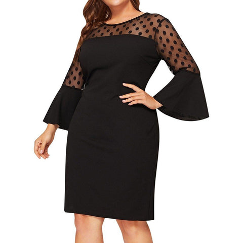 Bell Sleeve Midi Dress eprolo