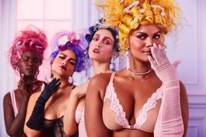 New Savage x Fenty Collection drop: Loving the trendy victorian lingerie campaign
