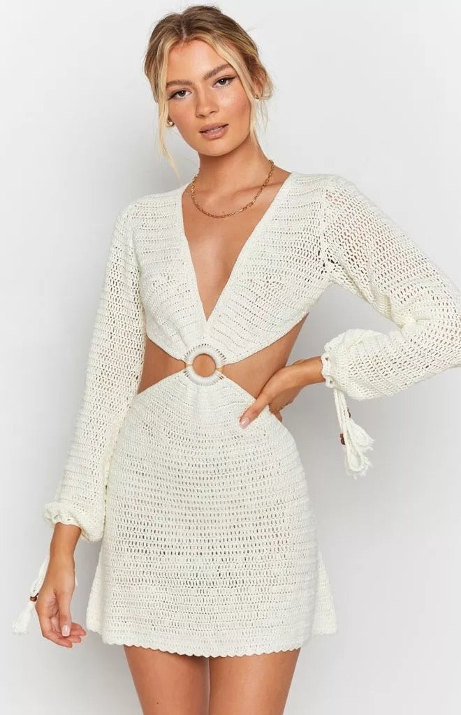 Knit Backless Dress