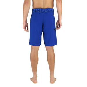 "ABYSS MEN'S 20"" BOARDSHORTS BLUE, LONG FISHING SHORTS, STRETCH FABRIC"