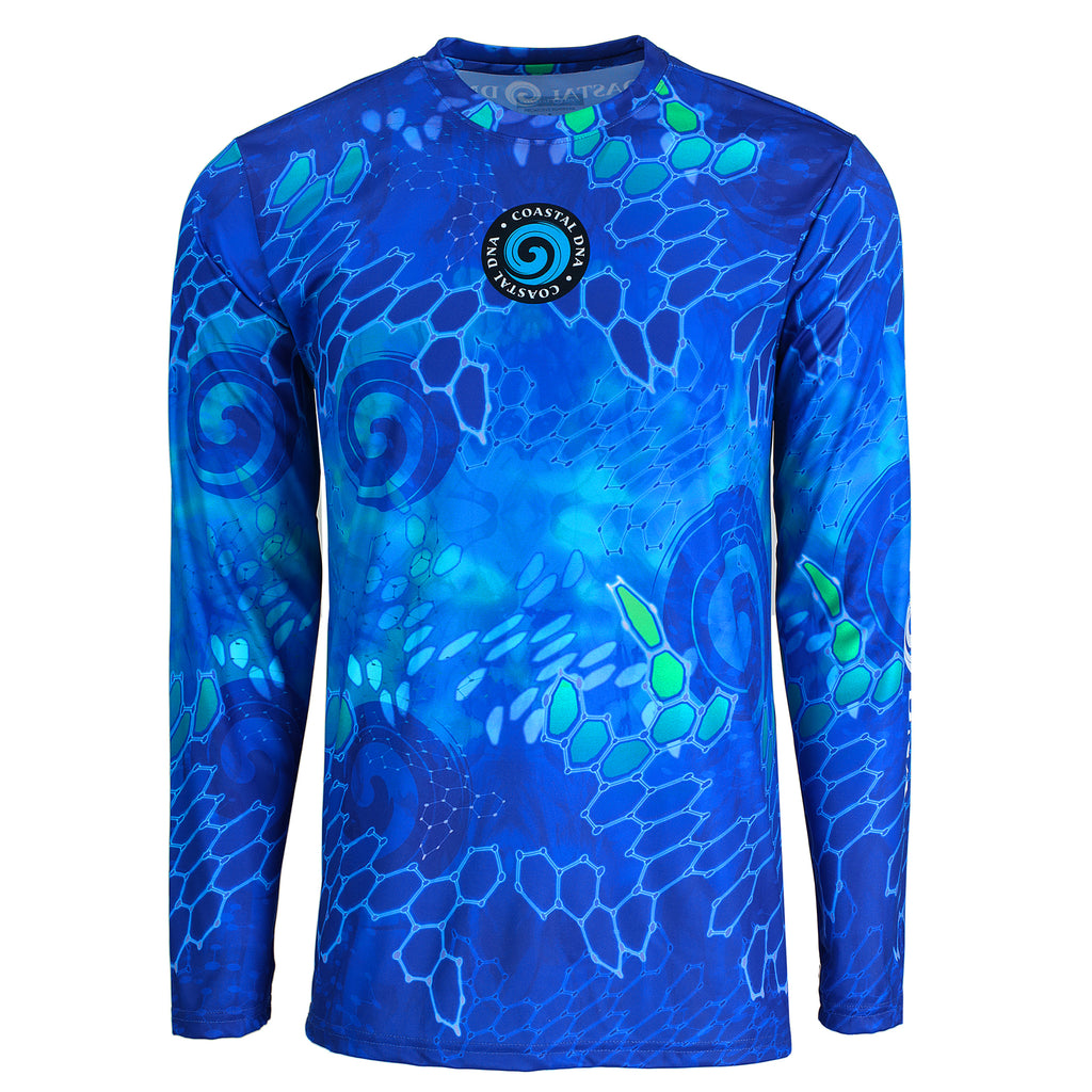 Sun Protection, Proactive Sunwear, Fishing Shirt, Rashguard, COASTAL DNA