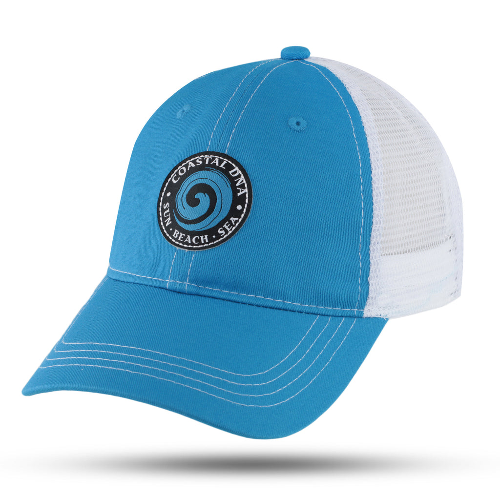 Hat, Trucker Hat, Fish, Beach, Fishing, Wave, COASTAL DNA