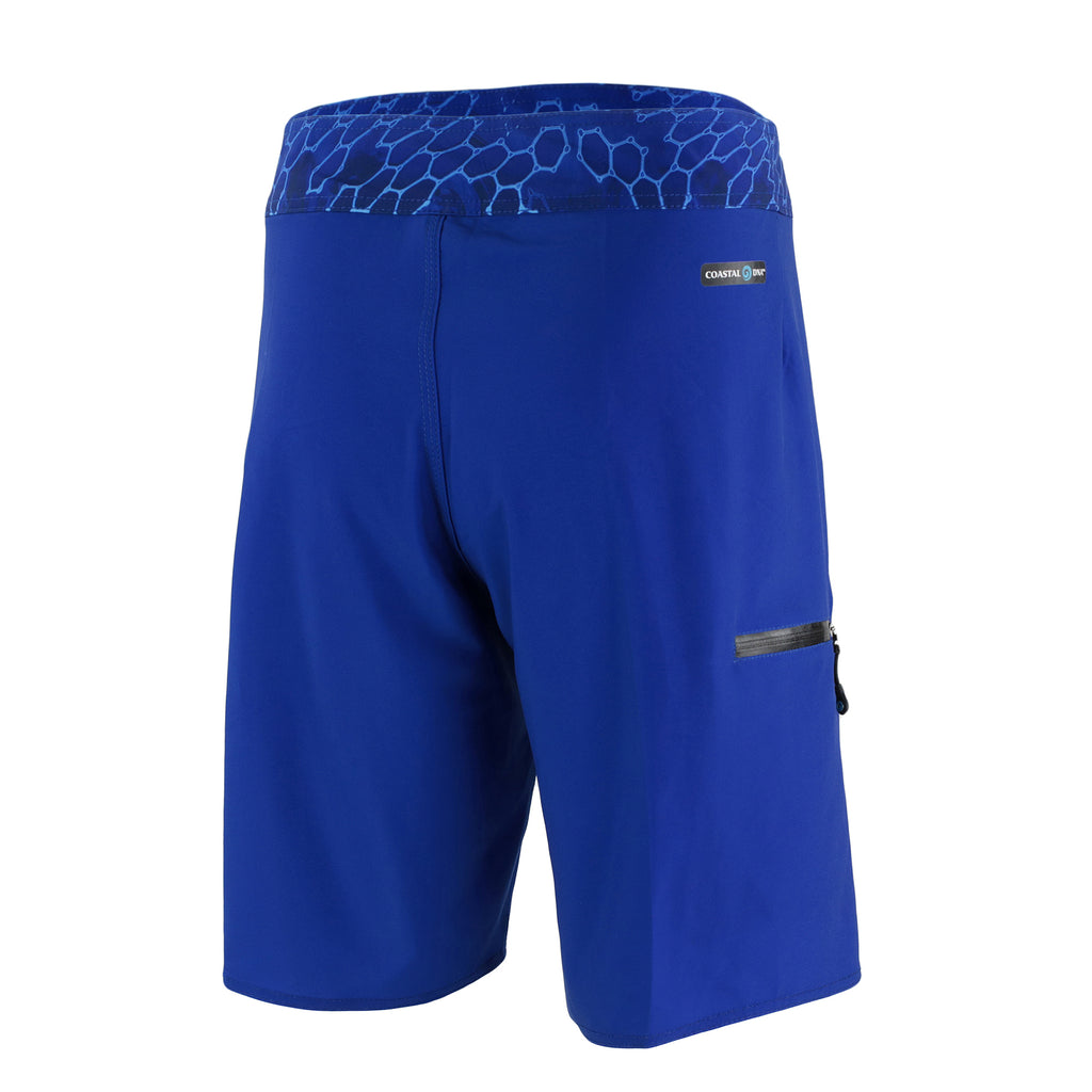 "ABYSS MEN'S 20"" BOARDSHORTS BLUE, LONG FISHING SHORTS, SWIM TRUNKS"