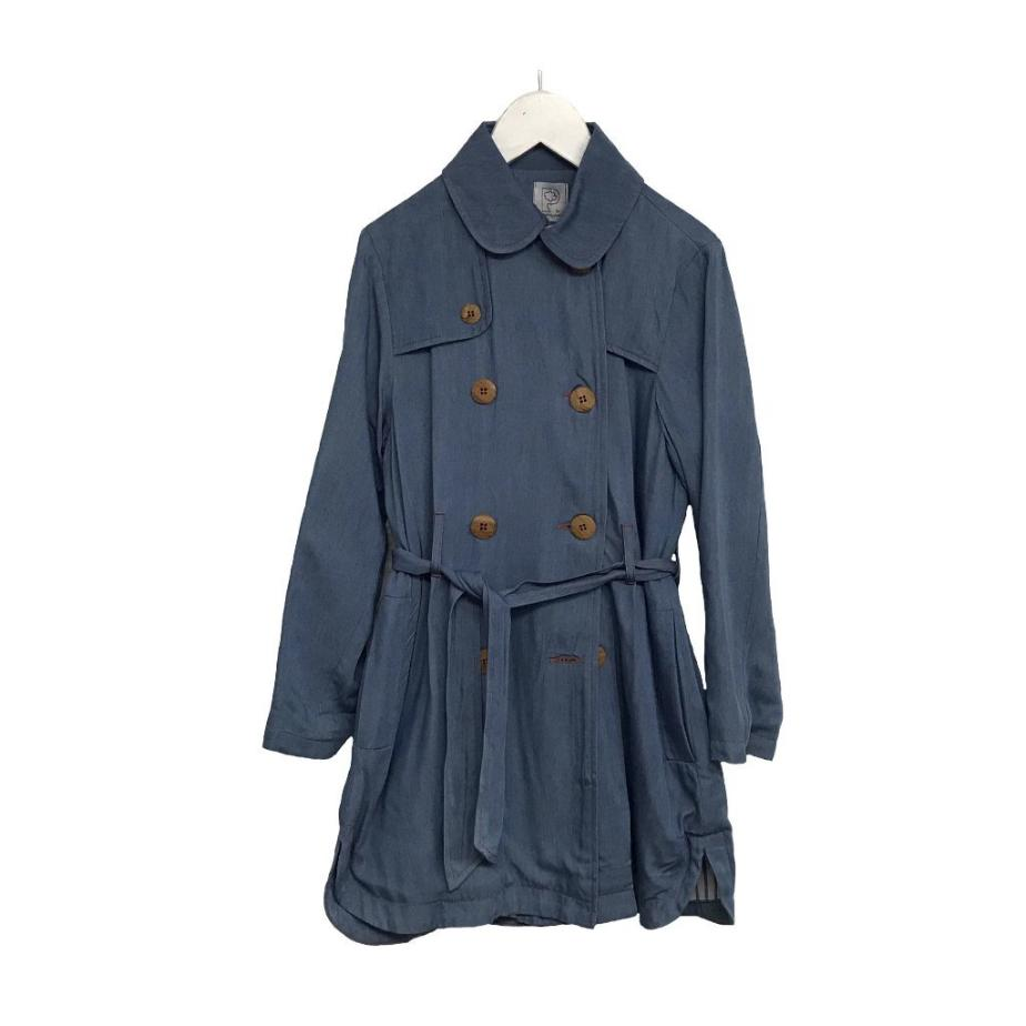 Trench tencel denim