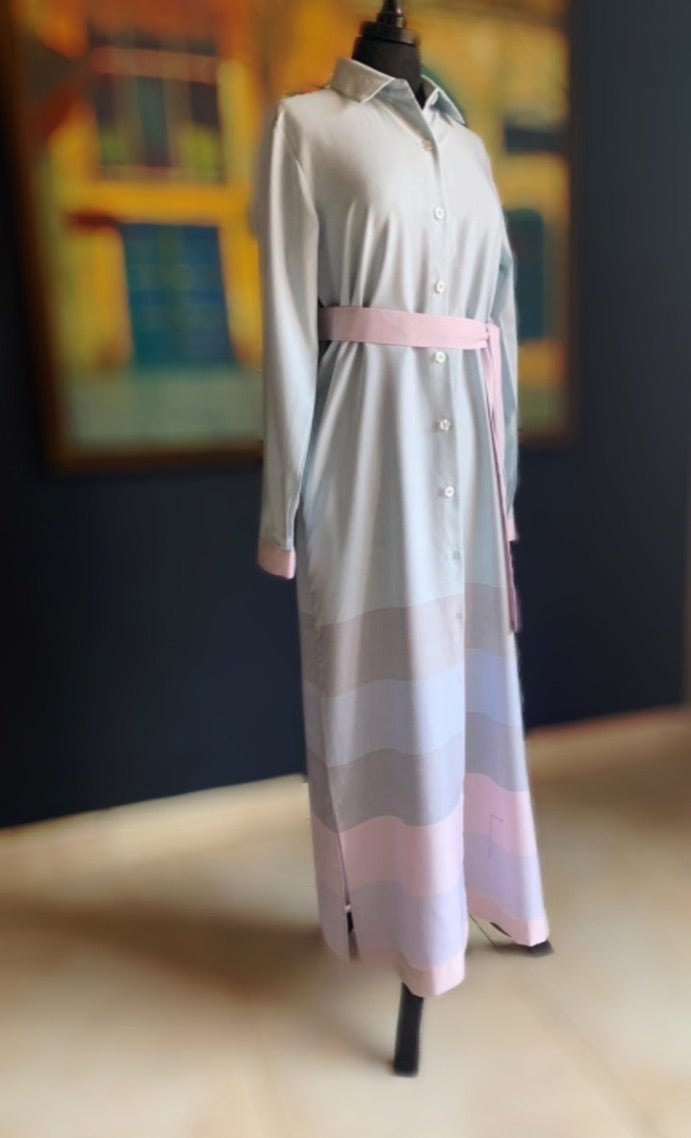 The Pastel Dream Shirt Dress
