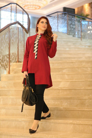 The Asymmetrical Tunic