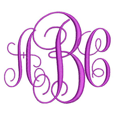 Embroidery Fonts, Monograms, Alphabets, Letters and Numbers to Download Instantly
