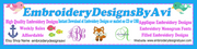 Embroidery Designs to Download or Embroidery Designs CD USB