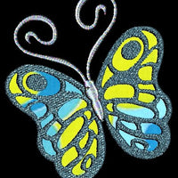 Applique Butterfly Butterflies Machine Embroidery Design  Set of 10 - Embroidery Designs By AVI