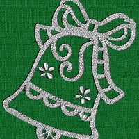 Christmas Bells Machine Embroidery Design Set of 10 - Embroidery Designs By AVI
