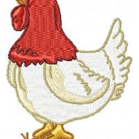 Chicken Rooster Farm Machine Embroidery Design Set of 10 - Embroidery Designs By AVI