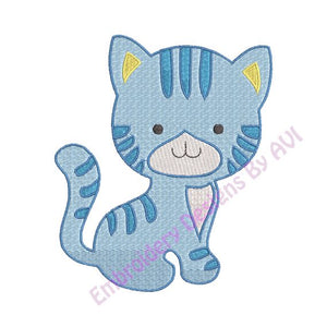 Cat Kitten Embroidery Design Download