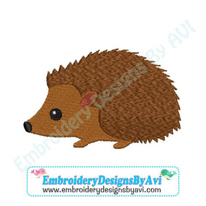 Hedgehog Machine Embroidery Design Download