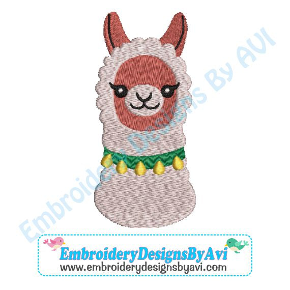 Llama Embroidery Design Download