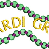 Mardi Gras Party Parade Festival Machine Embroidery Designs Set - Embroidery Designs By AVI
