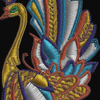 Jacobean Peacocks Birds Machine Embroidery Designs Set of 10 - Embroidery Designs By AVI