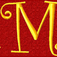 Huge Set Swirly Curlz Machine Embroidery Monogram Fonts Designs Set - Embroidery Designs By AVI