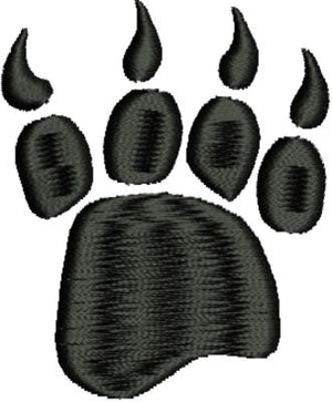 Bear Claw Paw Print Machine Embroidery Design - Embroidery Designs By AVI