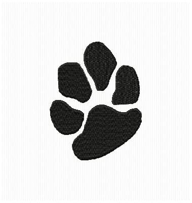 Dog Animal Paw Print Machine Embroidery Design - Embroidery Designs By AVI