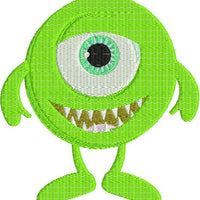 Cute Little Monster Cyclops Machine Embroidery Design - Embroidery Designs By AVI