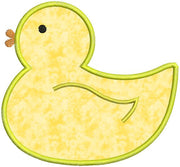 Rubber Duck Duckie Applique Machine Embroidery Design - Embroidery Designs By AVI