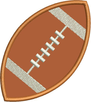 Football Applique Machine Embroidery Design - Embroidery Designs By AVI