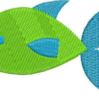 Simple Fish Machine Embroidery Design - Embroidery Designs By AVI