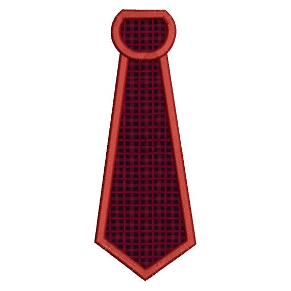 Applique Necktie Neck Tie Machine Embroidery Design - Embroidery Designs By AVI