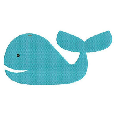 Whale Nautical Ocean Machine Embroidery Design - Embroidery Designs By AVI