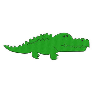 Alligator Crocodile Machine Embroidery Design - Embroidery Designs By AVI