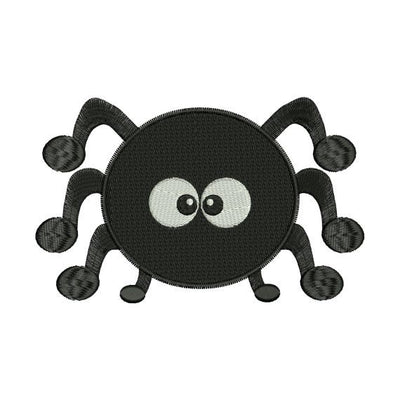 Cute Spider Halloween Machine Embroidery Design - Embroidery Designs By AVI