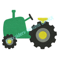 Tractor Farm Machine Embroidery Design - Embroidery Designs By AVI