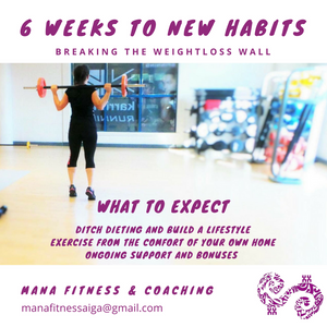 6 Weeks To Breaking The Weightloss Wall Fitness Program